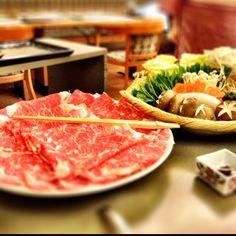 Sukiyaki, oh so umai (delicious)!!! #japanesefood