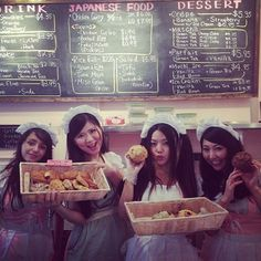 """""""Maid Cafe NY"""" is the first maid cafe in America's East Coast region. It reflects Japanese kawaii (cute) culture. Waitresses wearing a frilly apron and cap welcome you.  https://www.facebook.com/MaidCafeNY"""