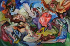 Znalezione obrazy dla zapytania andrzej borowski malarstwo