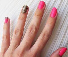 a little leaopard nail is always fun-ky...: http://www.kandeej.com/2011/06/hot-summer-nails-hot-pink-leopard-nail.html