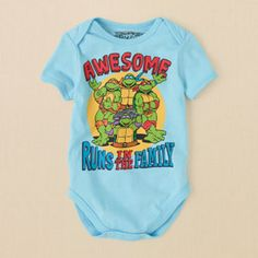 newborn - bodysuits - Teenage Mutant Ninja Turtles bodysuit | Children's Clothing | Kids Clothes | The Children's Place