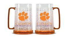 Clemson Tigers Crystal Freezer Mug