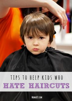 Occupational Therapy tips to help kids who hate haircuts. #sensory #OTtips #childdevelopment #functionalskillsforkids