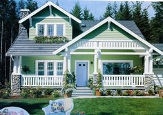 Craftsman House, Was In Country Living Magazine Years Ago