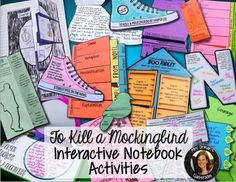 To Kill a Mockingbird by Harper Lee Interactive Notebook - Common Core AlignedThis bundle of activities includes over 90 interactive notebook activities to cover before, during, and after reading To Kill a Mockingbird. Every activity is aligned to at least one Common Core State Standard for reading literature, language (vocabulary), speaking and listening, and writing.