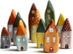 Clay houses ~**
