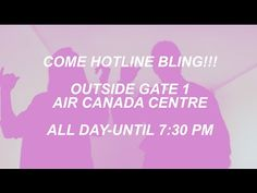 """You Can Film Your Own """"Hotline Bling"""" Video at the Toronto Raptors' Arena in Honor of Drake Night 