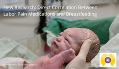 New Research_Direct Correlation Between Pain Medication in Labor and Delayed Onset of Lactation