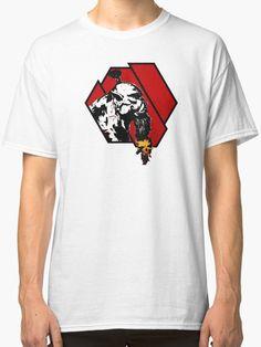 'Skull Warrior Orc Bearded Casual Gamer War Craft Logo Tee Shirt' Classic T-Shirt von NerdParadise Orc Warrior, Craft Logo, Warriors Game, Horde, Must Haves, Street Wear, Classic T Shirts, Tee Shirts, Casual