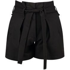 Boohoo Night Alex Tie Waisted Smart Belted Shorts BHD) ❤ liked on… Culotte Shorts, Denim Culottes, Belted Shorts, Sequin Shorts, Embellished Shorts, Tie Waist Shorts, Corte Y Color, Hot Pants, Work Attire
