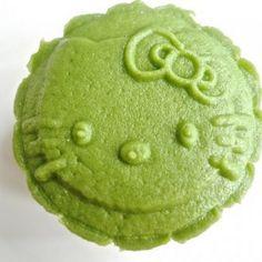 Matcha Green Tea Snowskin Mooncake Recipe Desserts with glutinous rice flour, powdered sugar, shortening, cold water, hot water, green tea powder, flour, cold water, lotus seed paste, seeds