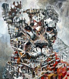 One of my absolute favorite artists, Samuli Heimonen. Viviane Sassen, Creative Pictures, Art Studies, Art Education, Illustration Art, Illustrations, Finland, Oil On Canvas, Modern Art
