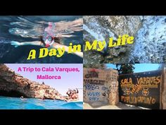 A Day in My Life | Trip to Cala Varques , Mallorca | Vlog 7 - YouTube Mallorca Island, My Life, Channel, Day, Beach, Youtube, Seaside, Youtubers, Youtube Movies