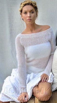 Мобильный LiveInternet Шикарный тонкий вязаный пуловер | Viktori2014 - Дневник Viktori2014 |