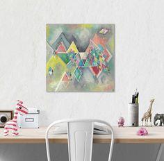 Geometric art Contemporary art Modern Urban Style Abstract Urban Style, Geometric Art, Instagram Accounts, Contemporary Art, Have Fun, Etsy Shop, Fine Art, Studio, Abstract