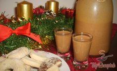 A karácsony elengedhetetlen kelléke a mézeskalács, és a felnőttek számára pedig még különlegesebbé tehető a mézeskalácsos karácsonyi likőrrel. A cukor, habtejszín, csokoládé, rum és a mézeskalács fűszerkeverék együttese fantasztikus ízvilágot képez, és hidegen és melegen is fogyasztható. Mi egyszerűen imádjuk, szívesen kortyolgatjuk a sütemények mellé, és tesszük vele különlegesebbé az ünnepi hangulatot. Beverages, Drinks, Christmas Cookies, Glass Of Milk, Diy And Crafts, Cocktails, Food And Drink, Xmas, Sweets