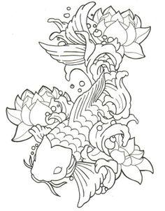 koi fish drawings | How To Draw A Koi Tattoo - LiLz.eu - Tattoo DE