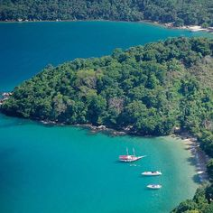 "Angra dos Reis, Angra dos Reis, between Rio and São Paulo. This popular Brazilian vacation area is where cariocas go to escape the crowds. ""It's where many of the country's elite have their beach villas,"