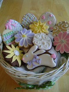 images of easter cookies | ... Foodie Girl - a food blog: Decorated Easter Cookies - week 13 of 52