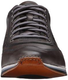 Magnanni Men's Cristian Fashion Sneaker, Grey, 7 M US