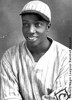 Cool Papa Bell from his Negro League days! My sons inspiration for fastest running of bases!