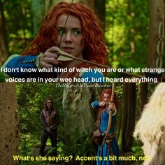Loved this part! Dark Swan, Ouat, Merida, Once Upon A Time, The Voice, Witch, Sayings, Movie Posters, Fictional Characters