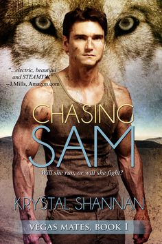 UPDATED COVER for CHASING SAM - Vegas Mates Book 1 by Krystal Shannan