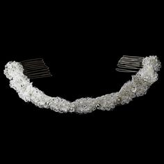 Elegant Vintage Headband Style Bridal Headpiece HP-8205 White or Ivory