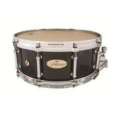Pearl Pearl Philharmonic PHP-1455-122 14X5.5 Ply Maple Snare Drum, Black Mist (Pearl 215704), Snare Drums