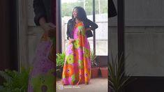 African Print Fashion, Pdf Sewing Patterns, Kimono Top, Sari, Women, Saree, Saris, Sari Dress, Woman