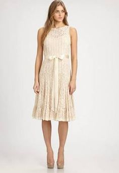 long sleeve champagne lace dress - Google Search