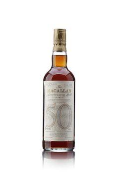 Macallan 1928-1983 - 50 Year Old Anniversary Malt - Whisky Online ...