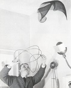In 1930 Bruno Munari began designing his Useless Machines – the first 'mobiles' in the history of Italian art. The paradoxical name was intended to be a reflection on the usefulness of the useless (art) and the uselessness of the useful (machines), creating a distinction between his personal aesthetic and that of 'orthodox' Futurism, with its fascination with roaring machinery and its uncritical attitude towards progress.