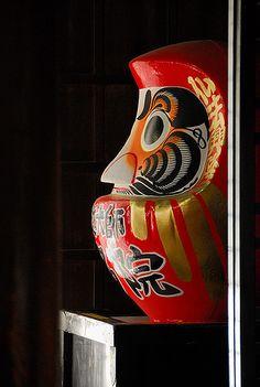 Special traditional Daruma object inside a Tokyo shrine. Photography by Andy Drake Japanese Design, Japanese Art, Tokyo, Daruma Doll, All About Japan, Turning Japanese, Maneki Neko, Nihon, Viajes