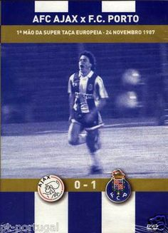 NEW 24-Nov-1987 AFC AJAX FC Porto 1 Mao Super Taca Europeia Football Sports FCP Fc Porto, Hose Reel, Saving Money, 1, Ebay, Save My Money