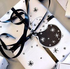 DIY: Julklappsetiketter, Inslagspapper Och Julkortsdekorationer