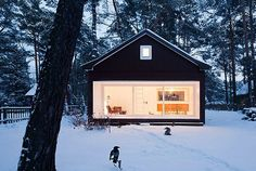 winter cabin cozy