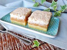 Raspberrybrunette: Jablkový koláč s kokosovou penou Apple Pie, Vanilla Cake, Sweet Recipes, Tiramisu, Cheesecake, Food And Drink, Baking, Ethnic Recipes, Cakes