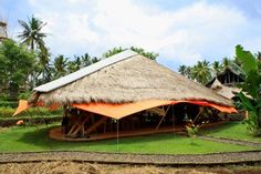 The Green School Showcases Bamboo Construction in Indonesia