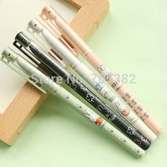 Kawaii rabbit series gel pen Novelty favor gift zakka Office supplies material school (ss a645)-in Gel Pens from Office & School Supplies on Aliexpress.com | Alibaba Group