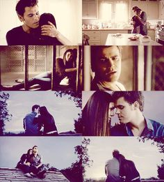 """""""Do you know why I was even on that bridge? I was coming back for you. I had to choose and I picked you. Because I love you. No matter what happens, it was the best choice I ever made."""" Stelena love"""