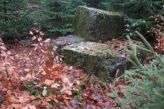 Auffällige Steinformation, Hermannsweg