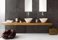 helles Holz mit dunkle Fleiesen  łazienka drewno - Szukaj w Google