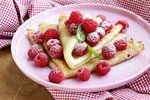 Palačinky - tip na valentýnskou snídani Pancakes, Breakfast, Morning Coffee, Pancake, Crepes