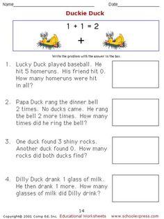 math worksheet : math worksheets free addition worksheets story problems  : Horizontal Addition Worksheets