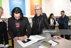 Keanu Reeves and Alexandra Grant attend the Shadow Book signing on Steidle stand as part of Paris Photo 2017 Day Two At Le Grand Palais on November. Keanu Reeves Alexandra Grant, Keanu Charles Reeves, The Boy Next Door, Grand Palais, 2017 Photos, Paris Photos, Book Signing, Book Of Shadows, Cinema