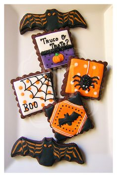"N.M. Galletas Artesanas: Halloween {2ª Parte, ""aterradoras"" galletas de chocolate}"