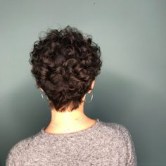 Short Curly Hairstyles For Women, Haircuts For Curly Hair, Curly Hair Cuts, Permed Hairstyles, Curly Hair Styles, Short Haircuts, Celebrity Hairstyles, Wedding Hairstyles, Casual Hairstyles