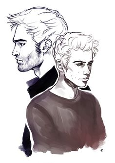 Teen Wolf FanArt: 1+1 by NinaKask on deviantART