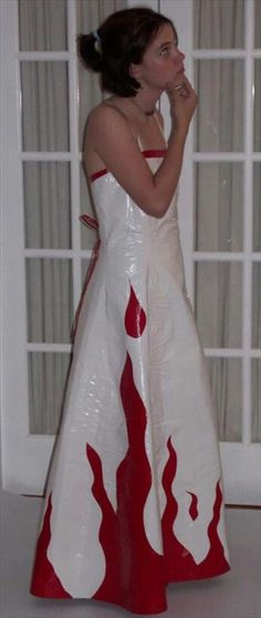 30 Cute Duct Tape Dress Ideas   101 Duct Tape Crafts